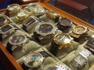 Drug lords wrist watch jewelry