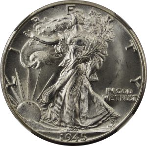 Walking_Liberty_Half_Dollar_1945D_Obverse